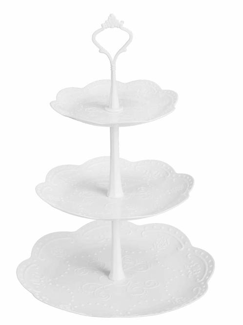 3 Tier Cupcake Stand, Plastic
