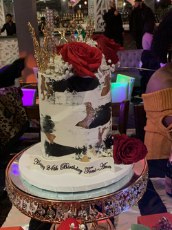 Classic Love- 1Tier, Tall Real Cake