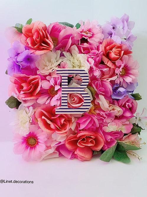 Letter B- Garden Wall