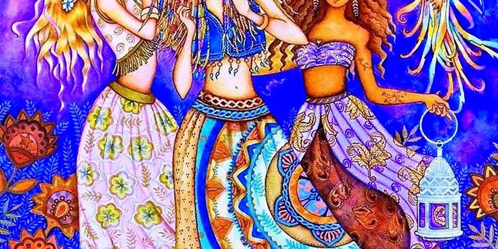 Taller Danza del Vientre, la danza del Agua