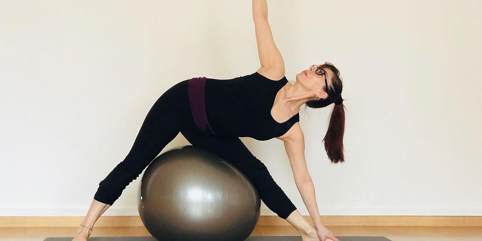 Clase/Taller de Yoga Fitball
