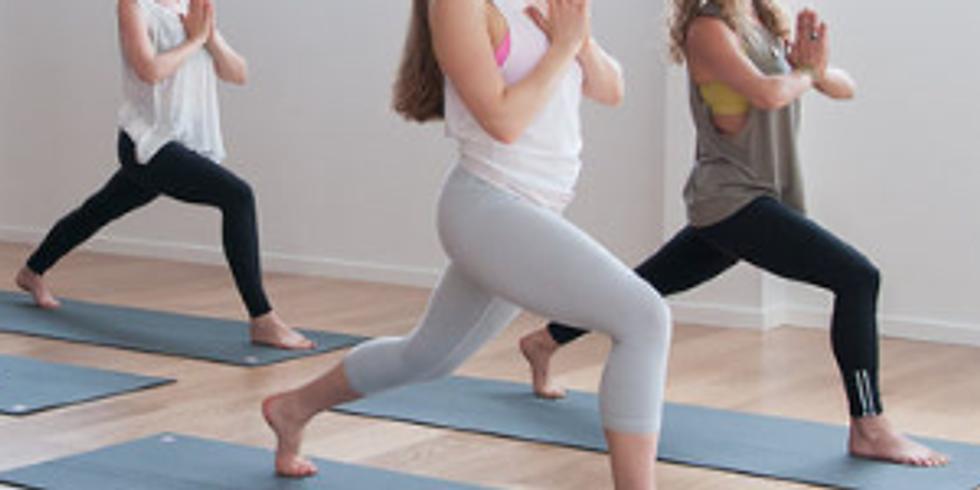Taller de Yoga, posturas básicas de pie