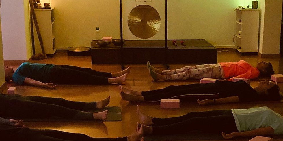 Taller de Yoga Nidra con Instrumentos Meditativos