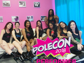 Surprise! We're Performing at PoleCon 2018!