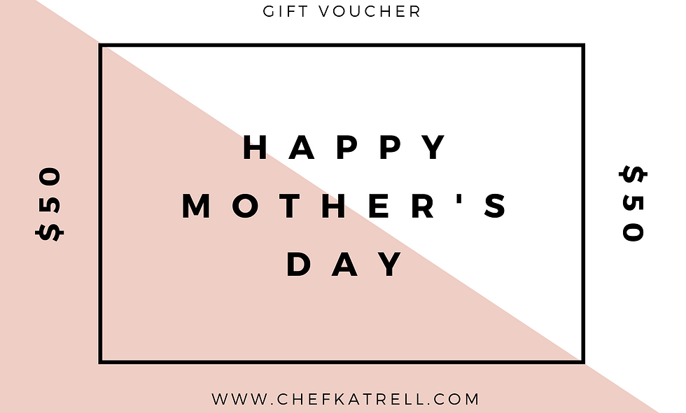 Mother's Day $50 Gift Certificate