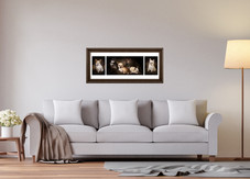Panoramic, three image frames.  The perfect way to display your beautiful photographs.