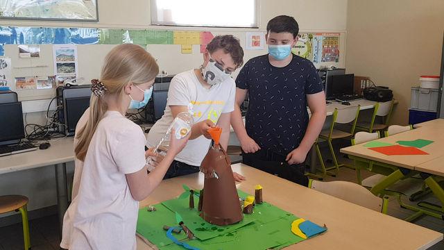 Vulkaanuitbarsting 1