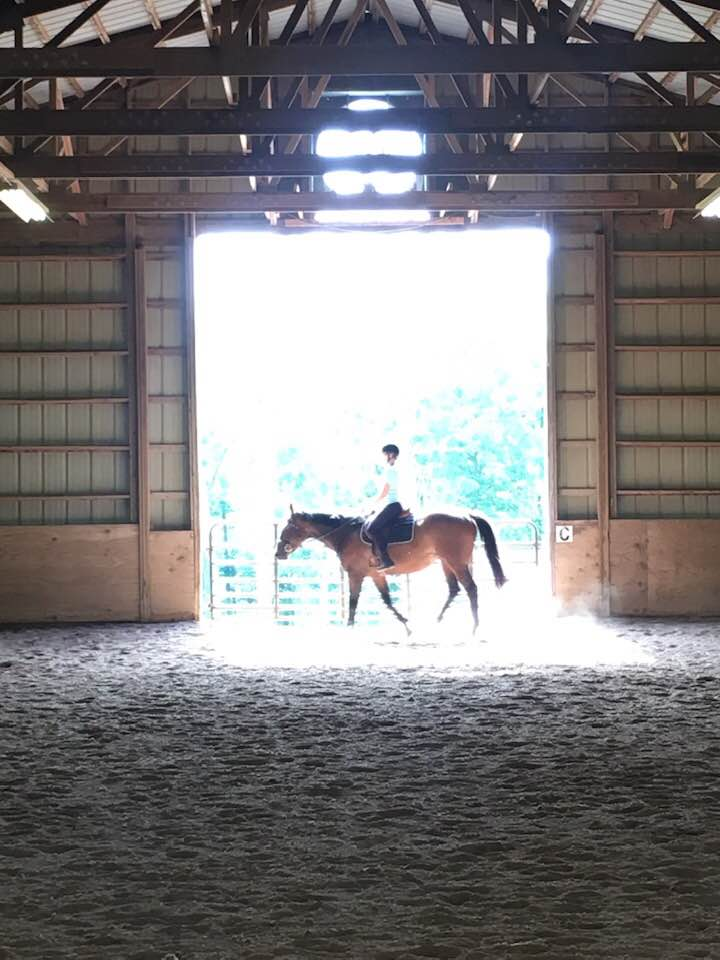 Indoor arena