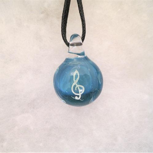 Music Dichroic Symbols Pendant