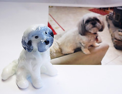 Personalized Dog Figurine