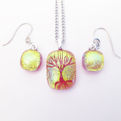 Cremation Necklace-Tree Of Life