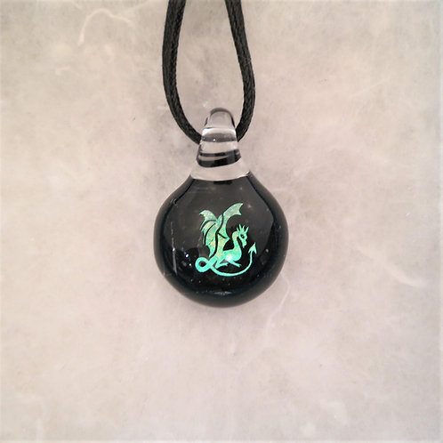 Dragon Dichroic Symbols Pendant