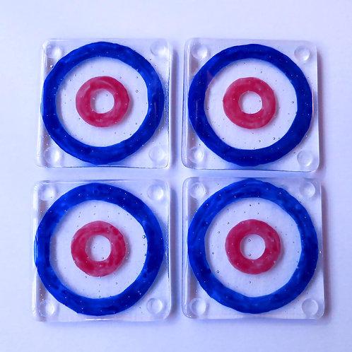 Curling Coasters