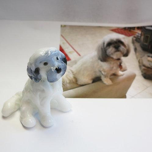 Cremation Dog Figurine