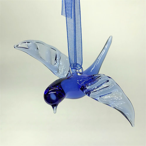Blue Bird Ornament / Figurine