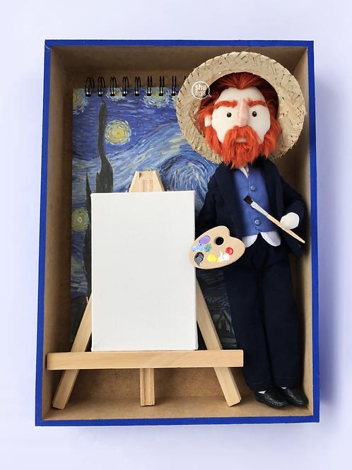 KIT - Boneco Van Gogh