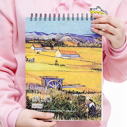 Sketchbook - Obras Van Gogh