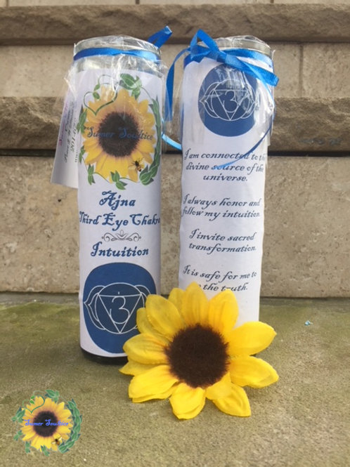 Third Eye Chakra Meditation Candle