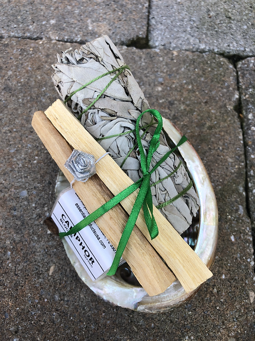 Sage Cleansing Bundle w/ Abalone Shell