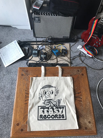 EEASY 'DOUBLE MOOD' DOUBLE SIDED TOTE