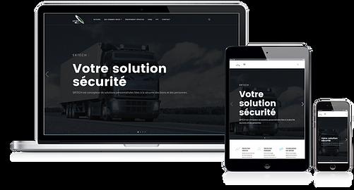 Site SRTECH solutions sécuritaires