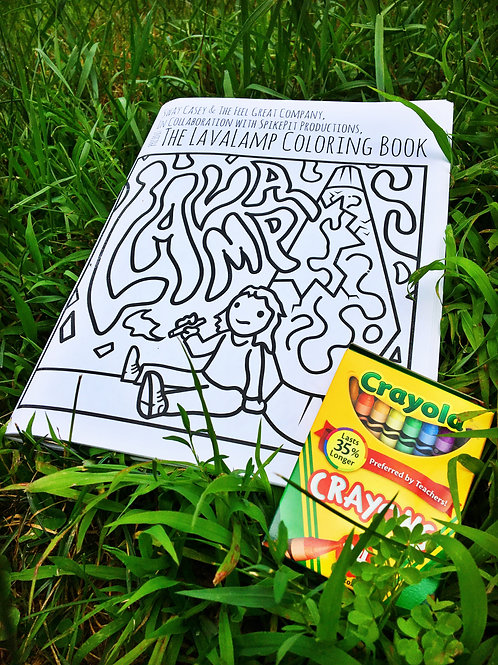 LavaLamp Coloring Book
