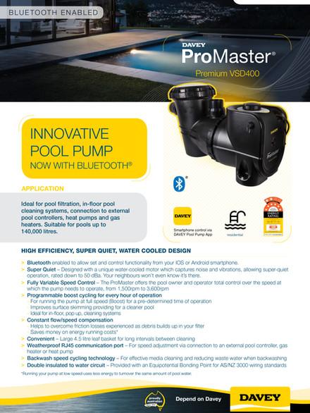 Davey ProMaster VSD400BT