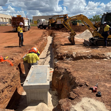 Brierty – Subdivision Works, bulk earthworks, installation services, supply plant and labour
