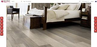 New Karndean Floorstyle AUS in a bedroom