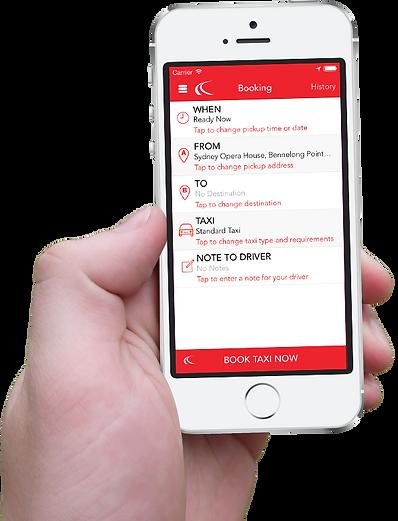 darwin taxi service mobile app