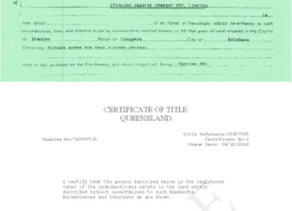 Farewell to the Paper Certificate of Titles in Queensland