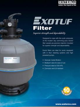 Waterco Exotuf Filter