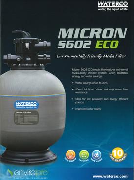 Waterco S602 24 inch fibreglass filter