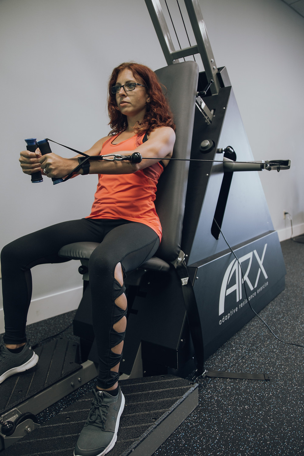 Strength training is extremely safe on the ARX Machines at Quick Fit Indiana