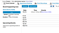 Schedule Web Conference in LMS