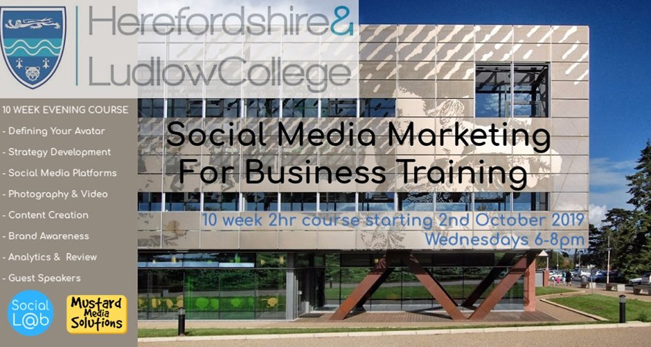 Social Media Workshop in Hereford