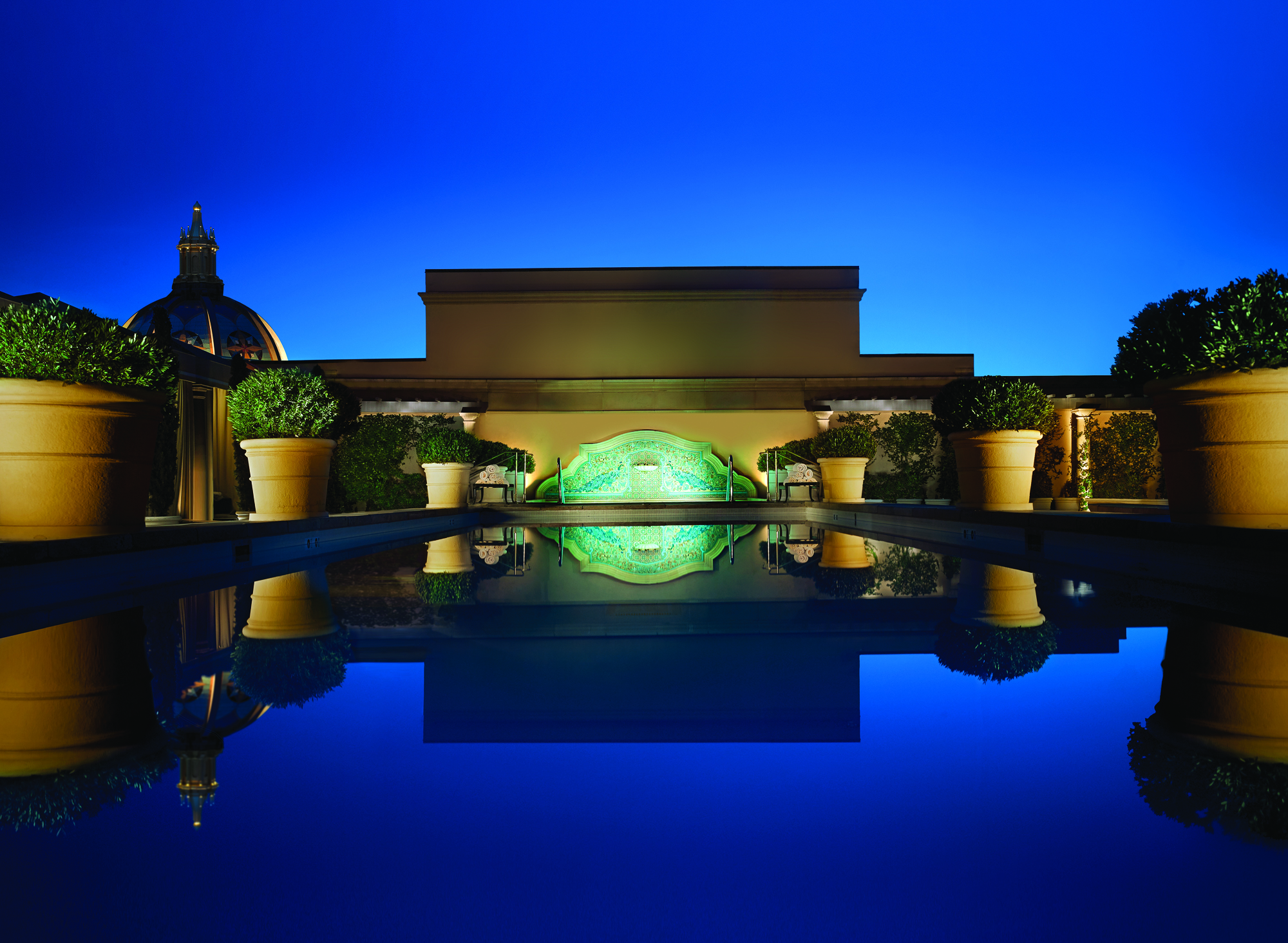 Best Roof Top Pools in Beverly Hills