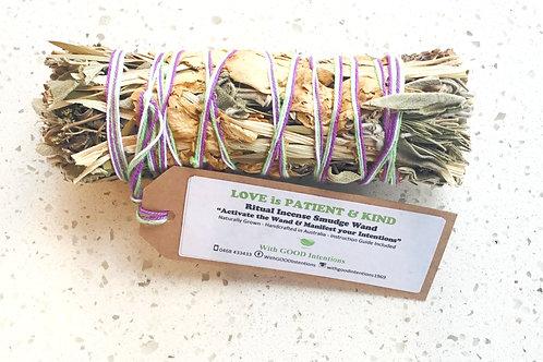 """Botanical Smudge Bundle """"Love is Patient & Kind"""