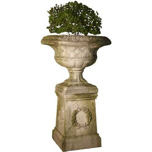 Weaved Classical Urn 19 (PEDESTAL SOLD SEPARATE)