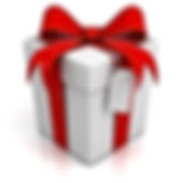 gift-box-red-ribbon-bow-blank-tag-white-