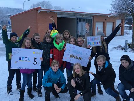 Vi i femman! Efter en spännande avslutning så segrade Önums friskola i kvällens kvartsfinal. En härl