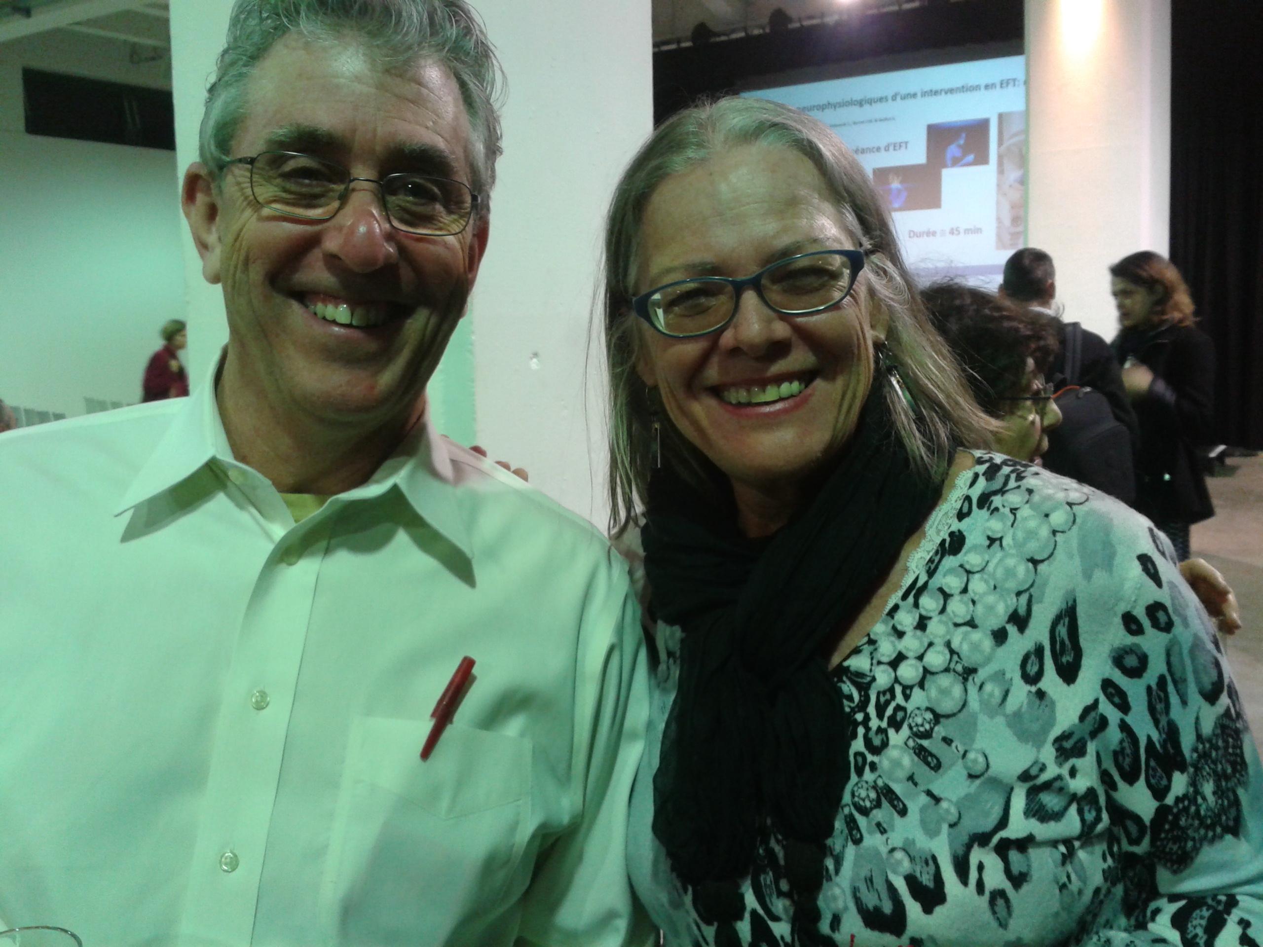 Avec M. Bob Schwarz, ACEP