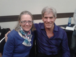 Avec le Dr Feinstein