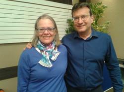 Avec M. Gurret, Psychologue