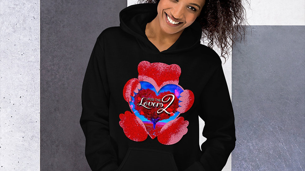 For The Lovers 2 Hoodie (By Aaron Geter)