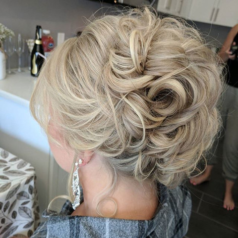 Gorgeous hair alert! 💕🎊 Our bride Paig