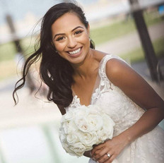 Our stunning bride, Adriana on her speci