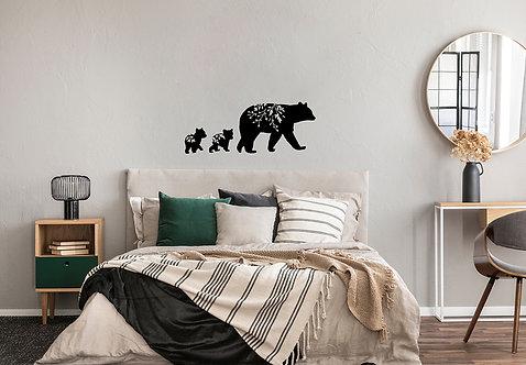 Bärenmama mit Bärenbabys (Setpreis)