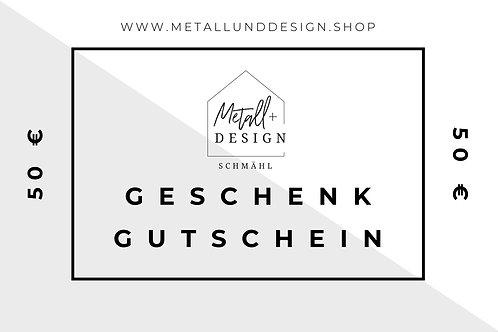 Gutschein 50 Euro - digitale Version