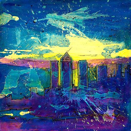 City Sky Scrapers